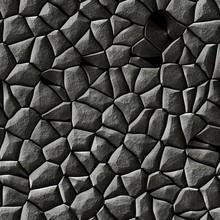 Texture Of Gray Rocks