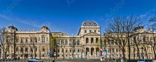Universität, Wien Canvas Print
