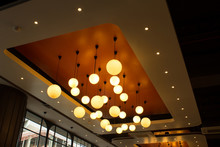 Professional Lighting For Interior Design Ball Lights Hanging From Ceiling