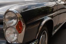 Oldtimer Auto 280SE Coupe Mit ...