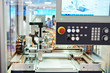 CNC machine for laser cutting of metal