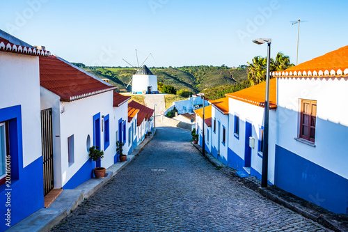 The traditional village Odeceixe in west Algarve, Portugal