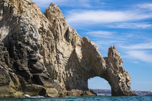 Scenic View Of Arch Of Cabo San Lucas