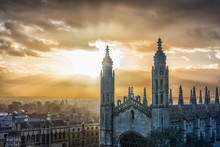 View Of King's College, Cambridge University, Cambridge