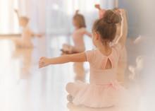 A Girl In Ballet Class, Pink, ...