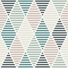 Seamless Pattern With Hatched ...