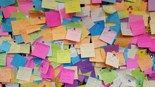 Post Its Bunt Chaos 1