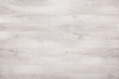 Leinwandbild Motiv white wood texture background, wooden table top view