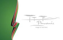 Kenya Abstract Flag Brochure C...