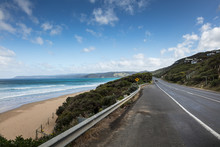 The Great Ocean Road In Victoria, Australia Is A One Of He World's Great Coastal Roads
