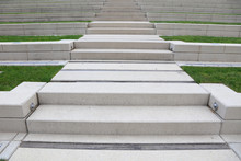 Perspective View Of Concrete Steps