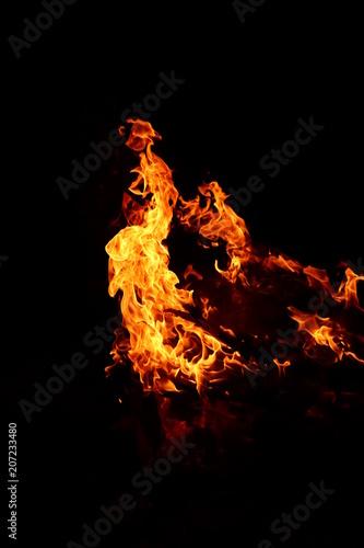 In de dag Vuur / Vlam Just fire