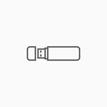 Flash Drive Icon, Thumb Drive ...