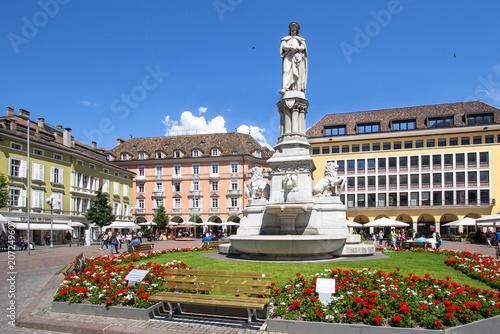Fotografie, Obraz  Bolzano city square, Italy