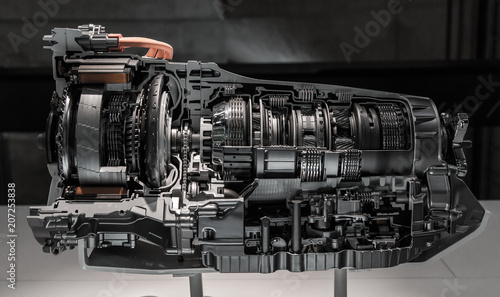Automatic transmission gearbox Wallpaper Mural