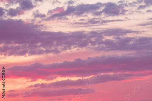 Canvas Prints Heaven sky at sunset as background