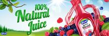 Natural Berry Blend Juice