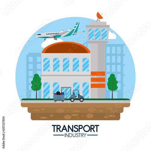 Fényképezés  Transport industry concept