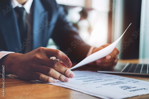 Fotomural  hr audit resume applicant paper and interview with using pen and computer laptop for selection human resource to company