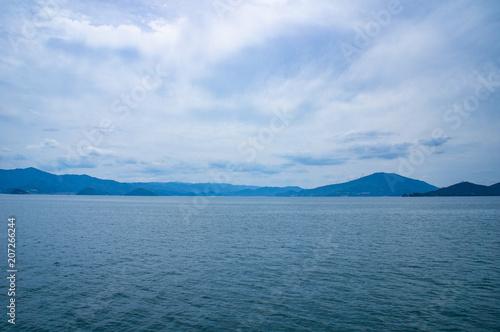 Valokuvatapetti 小浜湾の景色