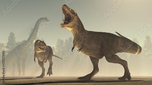 3d render dinosaur.