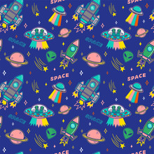 Pattern On Space Topic