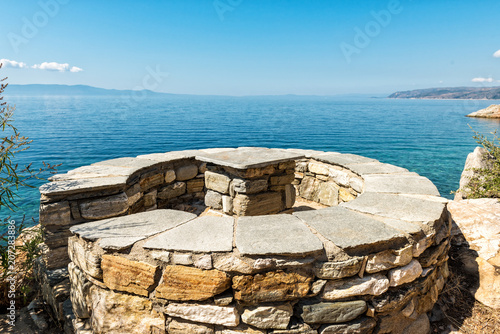 Fotografie, Obraz  A place to relax on Mount Athos