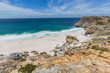 View of Diaz Beach at Cape Point with a perfect blue sky