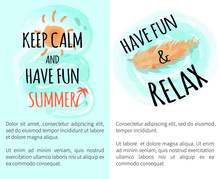 Keep Calm And Have Fun Summer ...