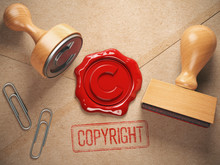 Copyright Rubber Stamp  And Se...