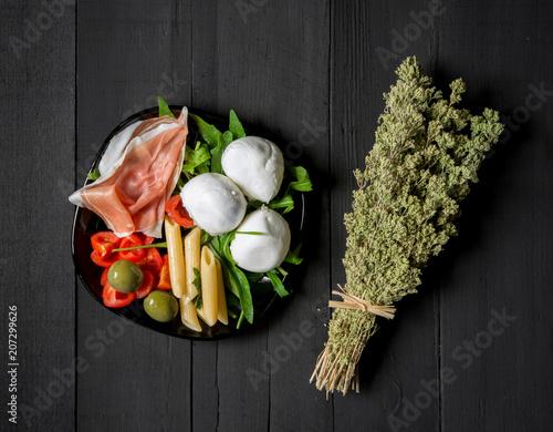 Foto op Plexiglas Buffet, Bar Mediterranean appetizer food