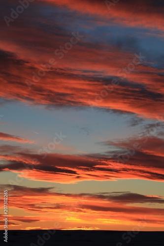 Plagát  sunset