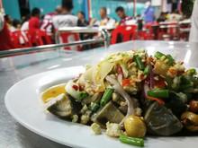 Preserved Egg Spicy Salad