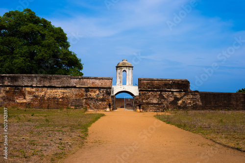 Fotografie, Obraz  Sadras Fort near Mahabalipuram, Tamil Nadu