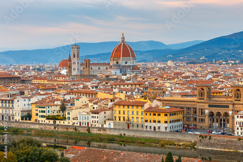 Foto op Plexiglas Toscane Florence Duomo. Italy.