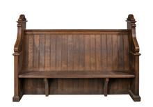 Church Pew Bench Seat