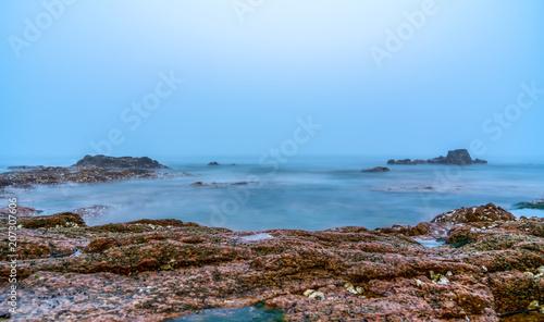 Foto op Aluminium Arctica The reefs in the sea