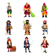 Pirate Vector Piratic Characte...
