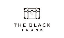 Minimalist Vintage Trunk / Suitcase Logo Design Inspiration