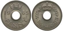 British Fiji Coin 1 One Penny ...