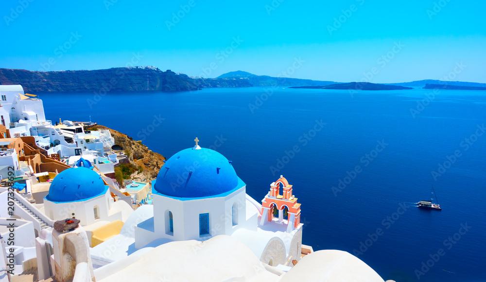 Fototapety, obrazy: Oia in Santorini