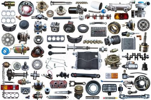 Fotografía  collage parts for auto