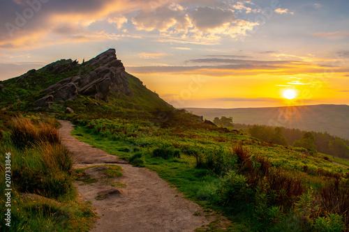 Poster de jardin Parc Naturel Sun Rise Staffordshie