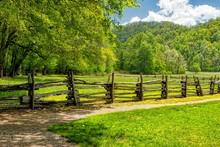 Landscape Across The Blue Ridge Mountains