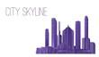 City Skyline - Buildings, Skyscrapers, Apartment Condo, Architectural Composition - Urban Landscape