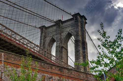 Tuinposter Brooklyn Bridge Brooklyn Bridge