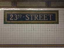 23rd Street Subway Station - NYC