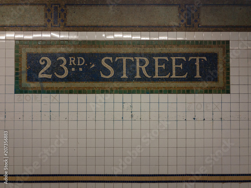 23rd Street Subway Station - NYC
