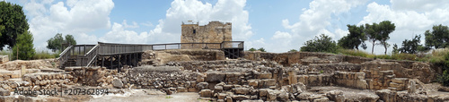 Foto op Aluminium Rudnes Crusader Citadel and ruins