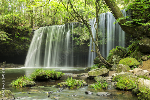 Foto op Plexiglas Asia land 鍋ヶ滝